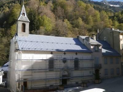 Rénovation des façades de l'église